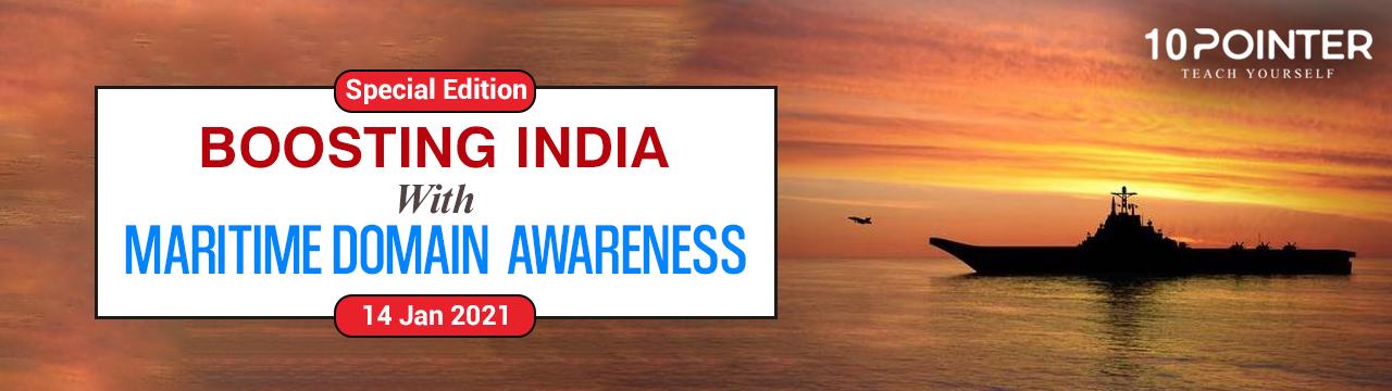 Boosting India with maritime domain awareness