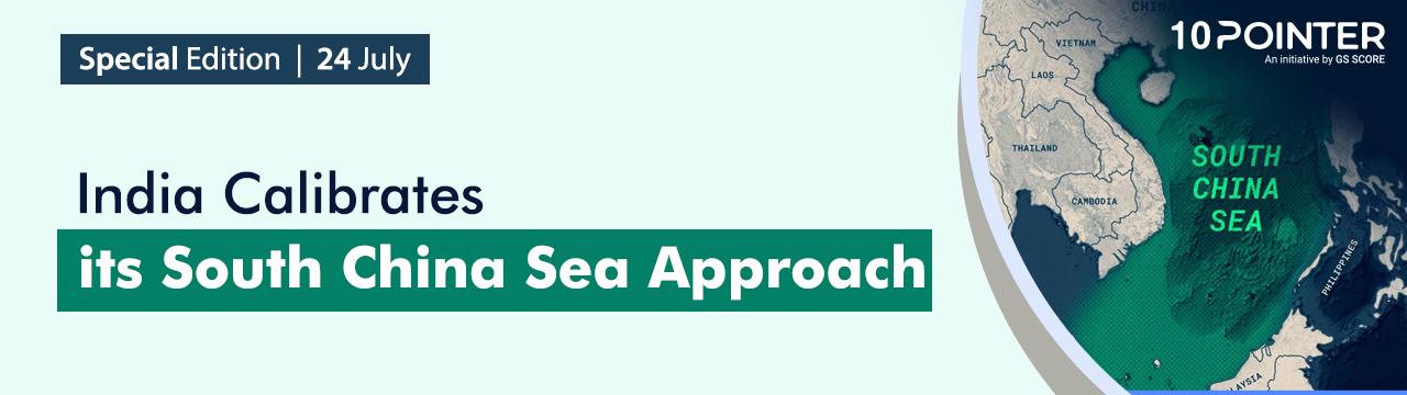 India Calibrates its South China Sea Approach Attachments area