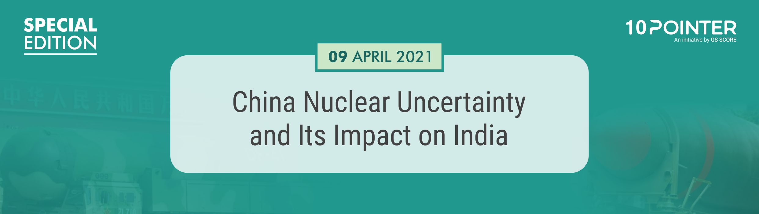 China Nuclear Uncertainty and Its Impact on India